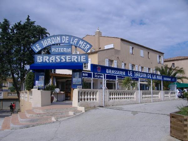 Restaurant le jardin de la mer Les jardins de la mer