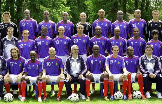 Mes equipes de foot favorites - Coupe du monde 1994 equipe de france ...
